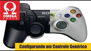 Configurando um Controle Genérico para Rodar Jogos da Steam