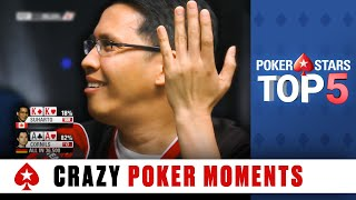 Top 5 WTF Moments | PokerStars