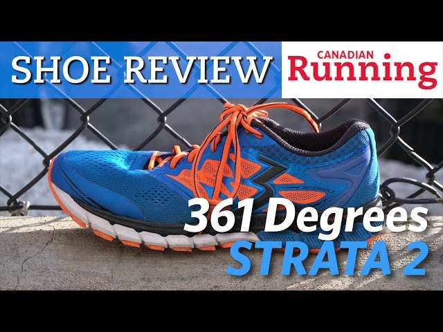 Shoe Review 361 Degrees Strata 2