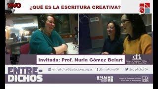 Sobre la escritura creativa (entrevista en Entredichos)