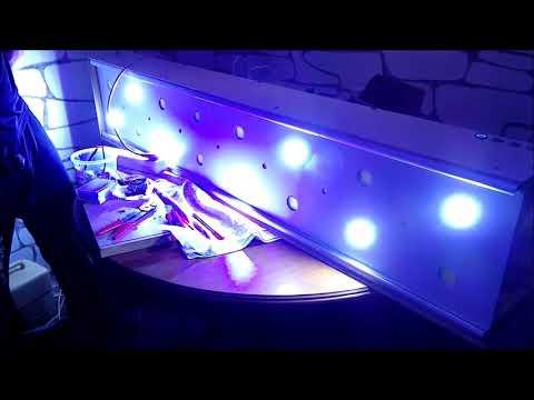 Do it yourself LED Meerwasser Lampe Tutorial 2.0