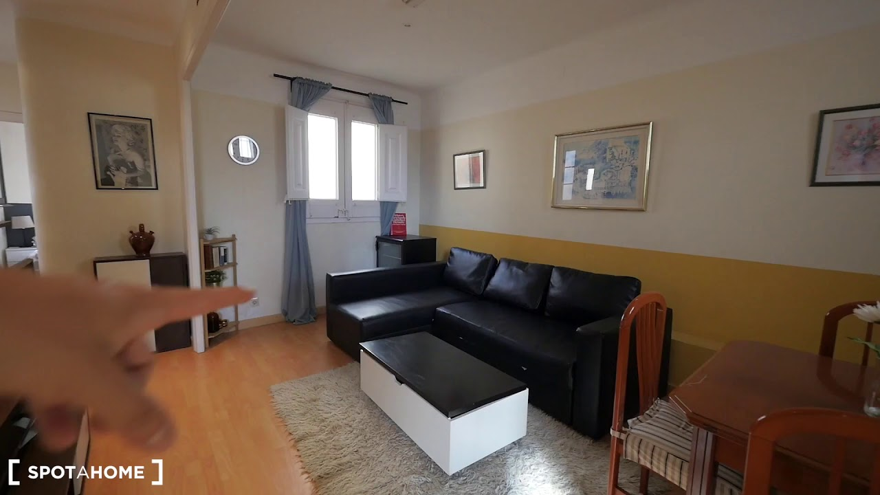 Furnished 2-bedroom apartment for rent in Eixample