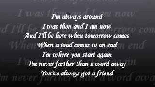 Josh Turner - I Was There Lyrics