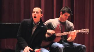 Chris Jamison and Jordan Millisor sing Marvin Gaye's Let's Get It On