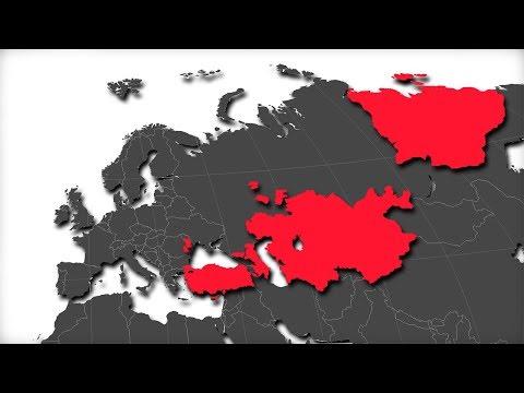 Dünya Üzerindeki Bütün Türk Ülkeleri Birleşip tek Bir Ülke Olsaydı? (+22 Ülke)