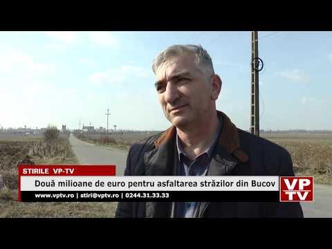 Două milioane de euro pentru asfaltarea străzilor din Bucov