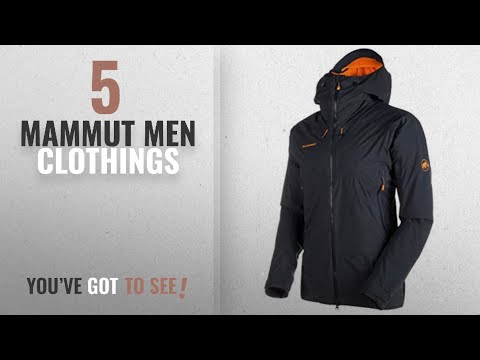 Top 10 Mammut Men Clothings [ Winter 2018 ]: Mammut Nordwand HS Thermo Hooded Jacket, Night, Small,