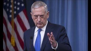 Defense Secretary James Mad Dog Mattis gives URGENT Press Conference
