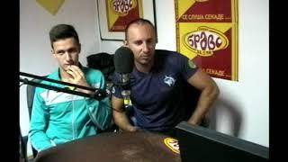 Milan Veljkovic i Filip Kolevski od AK Kumanovo