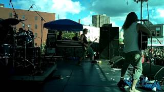 Boy Hits Car- Love Fury Passion Energy(KROCK Free for All/Syracuse, NY summer 2013)