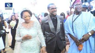 Idris Ajimobi Unveils Fatima Ganduje In Marriage Reception |Metrofile|