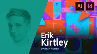 Graphic Design - Erik Kirtley Designs A Magazine Spread