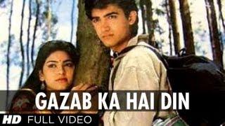 Gazab Ka Hai Din [Full HD Song] | Qayamat se Qayamat Tak