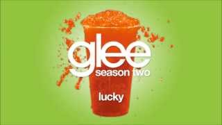 Lucky | Glee [High Quality Mp3 FULL STUDIO]