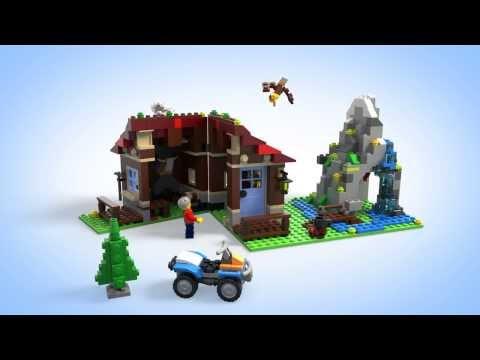 Vidéo LEGO Creator 31025 : Le refuge de montagne