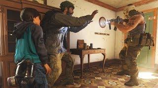 Kid Farah Kills a Russian Soldier to Revenge Her Father - Call of Duty: Modern Warfare 2019
