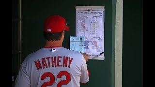 Major League Lineup Cards - Video Youtube