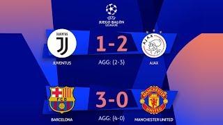 NARRACIÓN ÉPICA: Barcelona Vs United Y Juventus Vs Ajax | 4tos Champions League