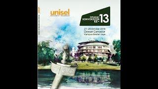Siaran Langsung Istiadat Konvokesyen Universiti Selangor Kali Ke-13 (Sidang 1)