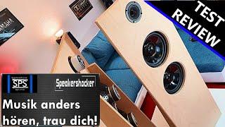 Lautsprecher Selbstbau Test | Review | Soundcheck. Monacor Katana-M1 Offene Schallwand als Dipol.