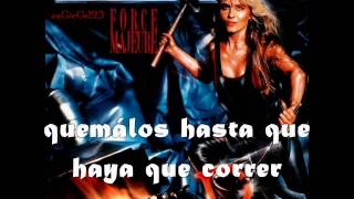 Doro Angels With Dirty Faces Subtitulado (Lyrics)