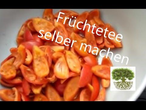 DIY - Früchtetee selber machen - Hagebutten, Holunder, Apfel - Naturrezepte #6