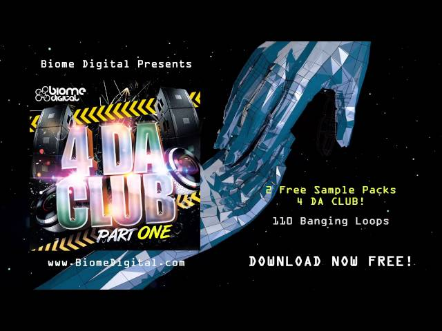 FREE EDM SAMPLE PACK - 4 DA CLUB - Free House & Techno Loops