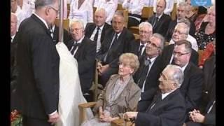 Goldene Hochzeit von Stammapostel i.R. Richard Fehr und seiner Frau Sonja