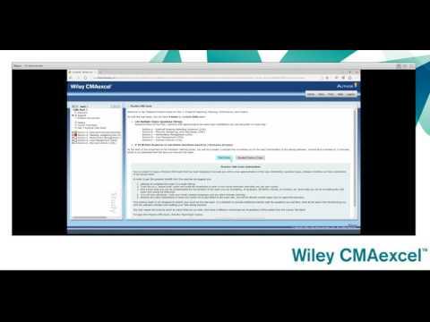 Wiley CMAexcel Practice Exam Tutorial - YouTube