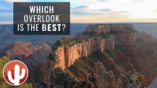 A Tour of North Rim Grand Canyon Overlooks | Grand Canyon National Park