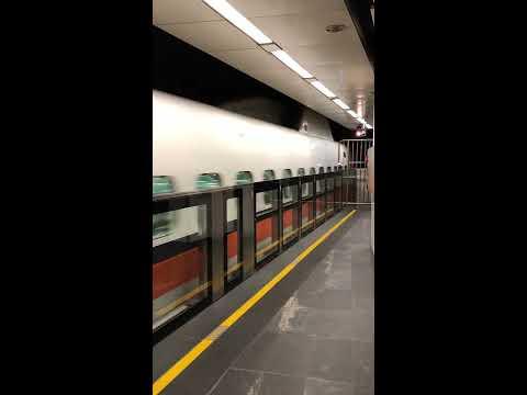 02012019 THSR Taipei Main Station - Departing the station
