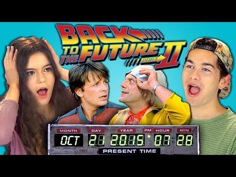 Puberťáci reagují na Návrat do budoucnosti