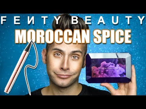 NO BULLSH*T Fenty Moroccan Spice Palette + Eyeliner  Review! |