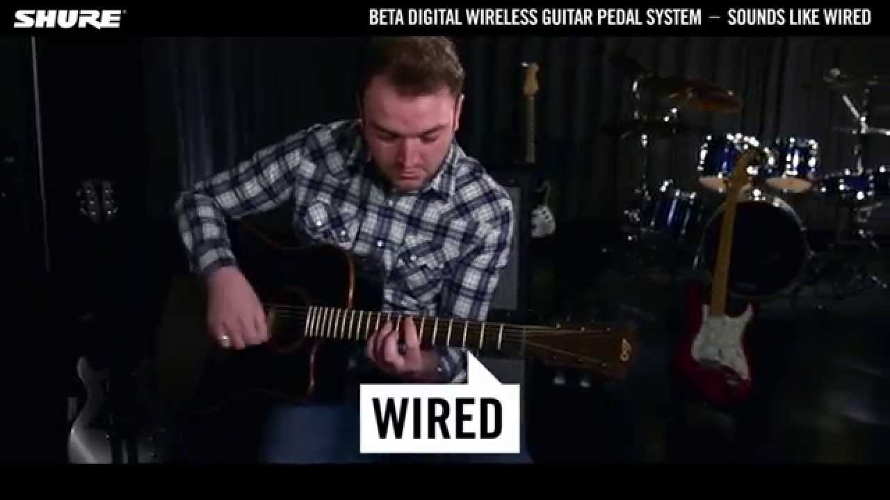 Shure Beta Digital Wireless Guitar System: Sounds like Wired