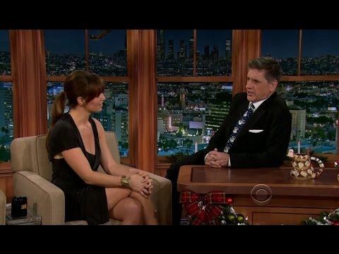 Late Late Show with Craig Ferguson 12/21/2012 Jamie Foxx, Bianca Kajlich