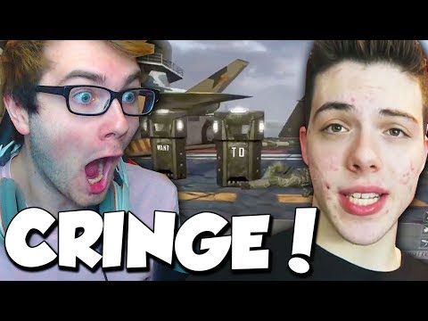REACTING TO FAZE ADAPT RECRUITING ME... (cringe warning) - BEFORE RED!