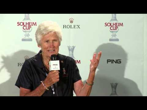Kathy Whitworth on the history of the Solheim Cup