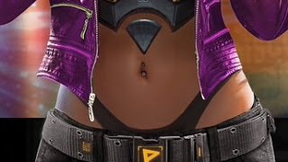 WWE Immortals - Gold Evolved Paige Has A Thong