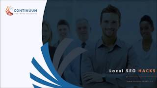 Local SEO Hacks   Continuum Software Solutions - Website Design, Mobile Apps and SEO