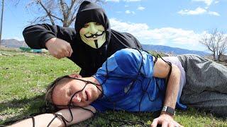 Secret SPY HACKER NINJA FIGHT! WHO IS REGINA?