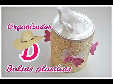 Organizador de Bolsas plásticas.♥ | Margari