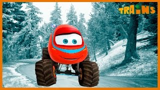 Train and the Monster Machines Full Episodes ✬ Cartoon for Kids About Cars 2016 ✓