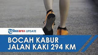 Bocah SMP di Sumsel Nekat Jalan Kaki ke Lampung seusai Dimarahi Sang Kakak, Tempuh Jarak 294 Km
