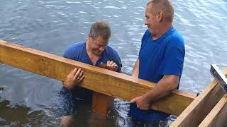 How to build a Shoreline Deck with stairs | Cottage Life