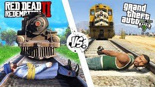 Приколы в Red Dead Redemption 2   WDF 138   ПОЕЗДЕЦ ПРОДОЛЖАЕТСЯ!