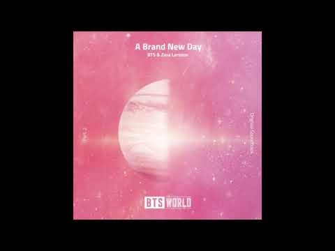 BTS, Zara Larsson​ - A Brand New Day (BTS WORLD OST Pt. 2) EMPTY ARENA