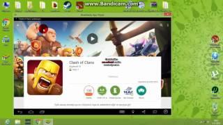 Clash Of Clans Bluestacks + Bot Kurulumu