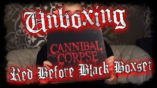 Unboxing - Cannibal Corpse - Red Before Black - Limited Boxset - Metalblade - Dani Zed