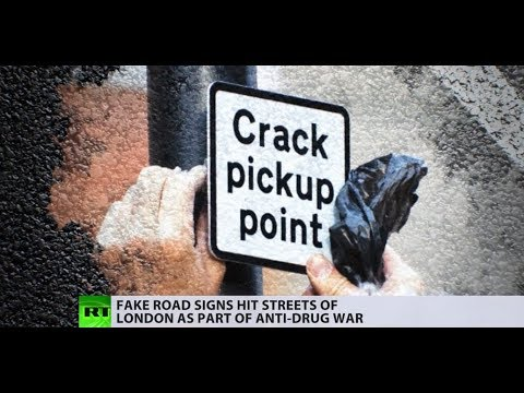 Sign of the times: Londoners take law into their own hands in fight against drug crime