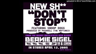 Beanie Sigel - Don't Stop ft. Snoop Dogg (Slowed)